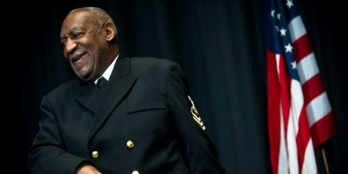 Bill Cosby in Navy Uniform