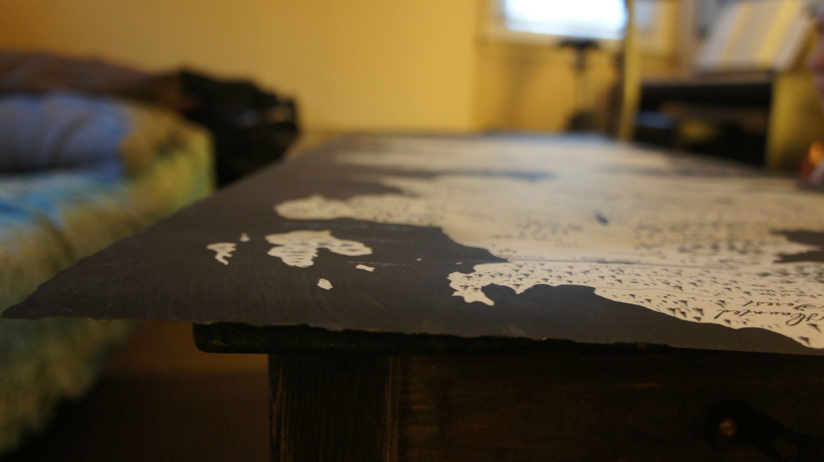 Game Of Thrones Fans Turn Westeros Map Into Incredible Coffee Table The Daily Dot