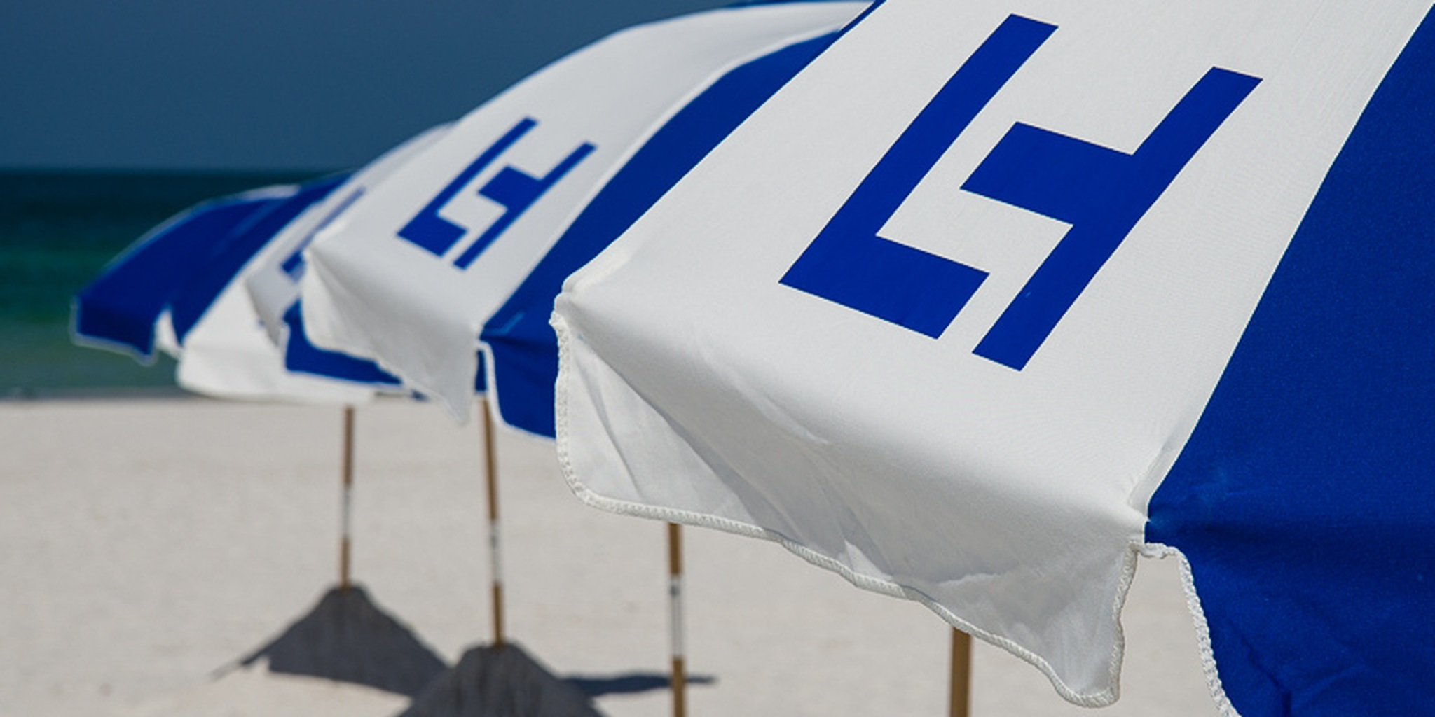All sizes | Loews Hotel rebranded their beach umbrellas at the Don Cesar | Flickr - Photo Sharing!