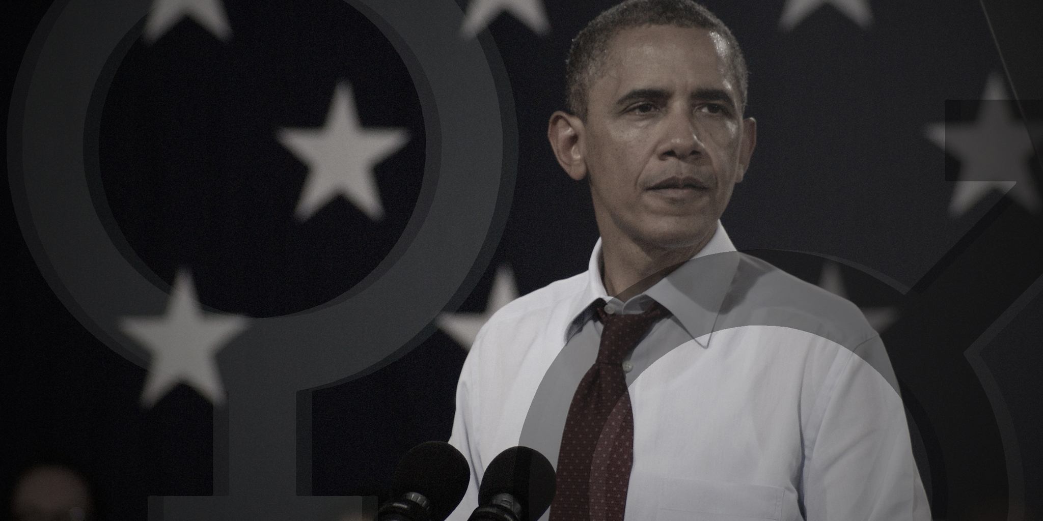 president obama says all men should be feminists in powerful essay obama surrounded by gender symbols