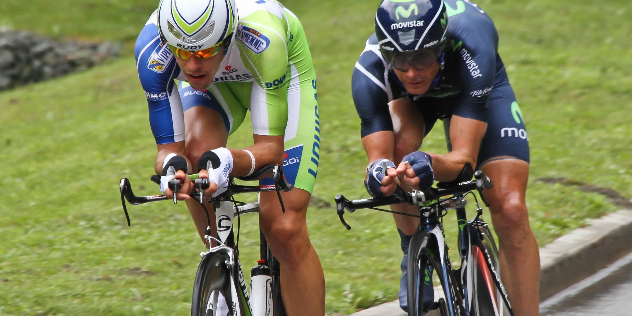 Tour de France time trial ride