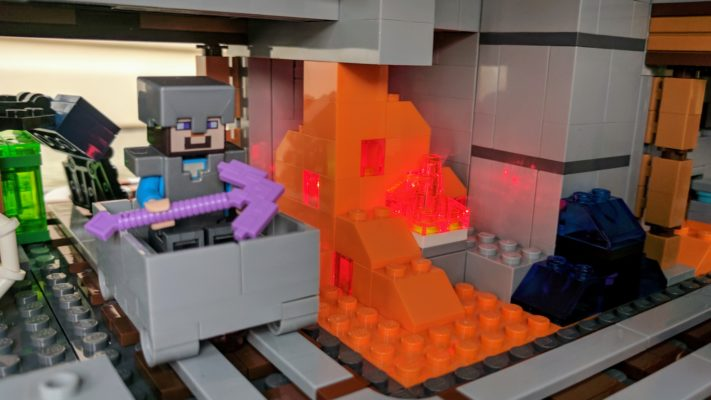 lego grings minecraft to real life with the lego minecraft