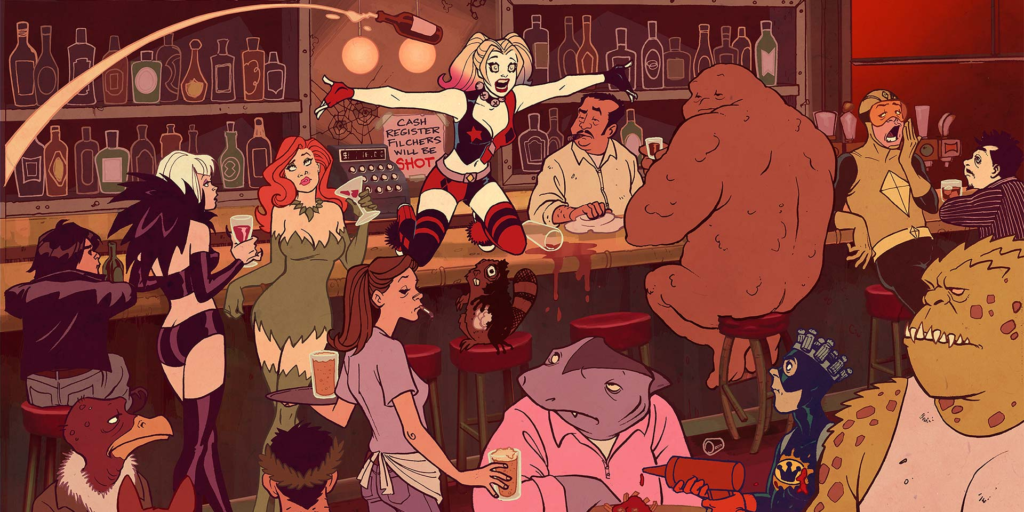 harley quinn animated series