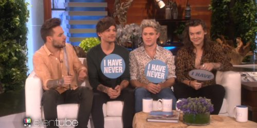 one direction ellen
