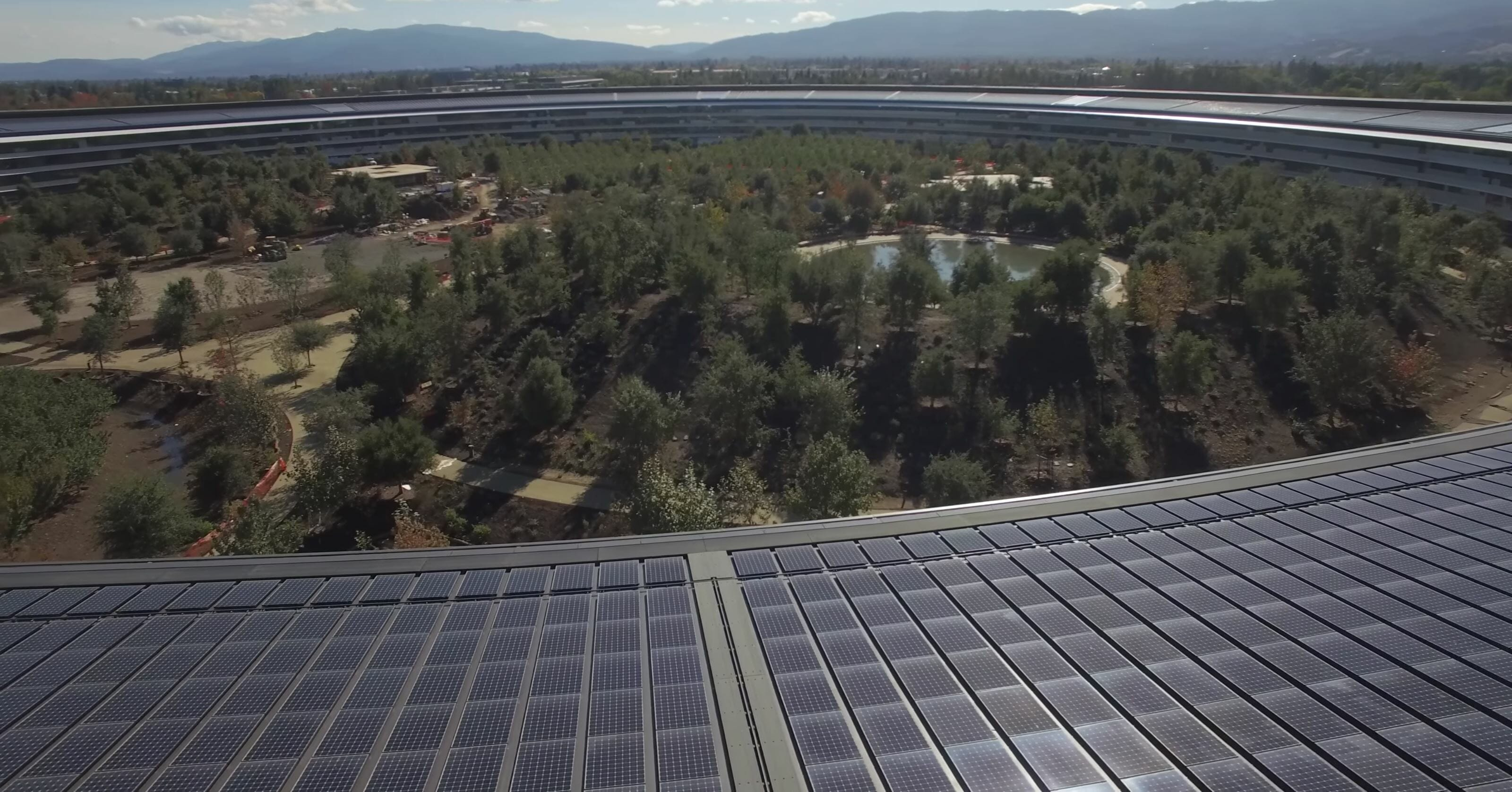 apple park solar panels