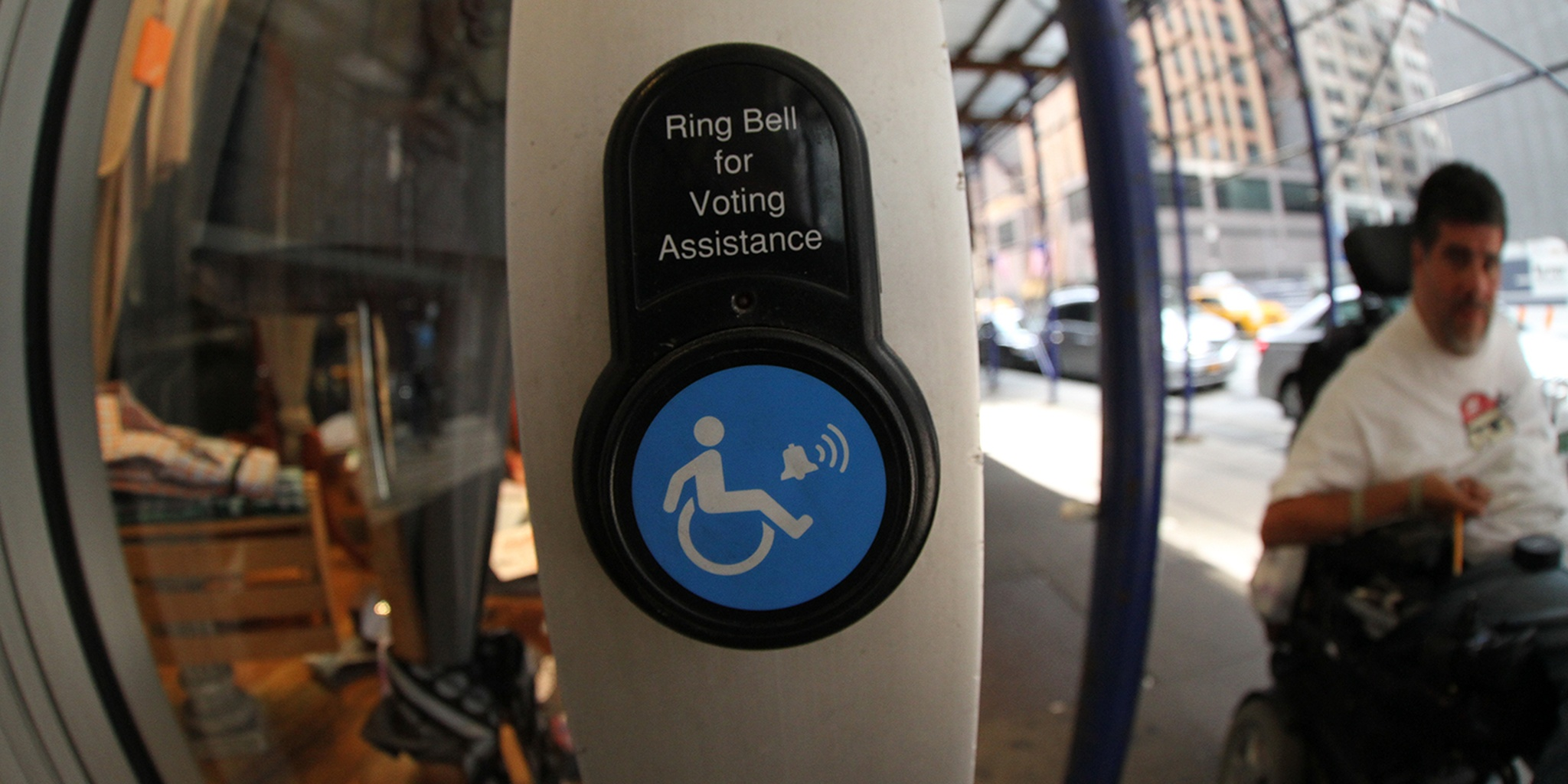 Disabled symbol with