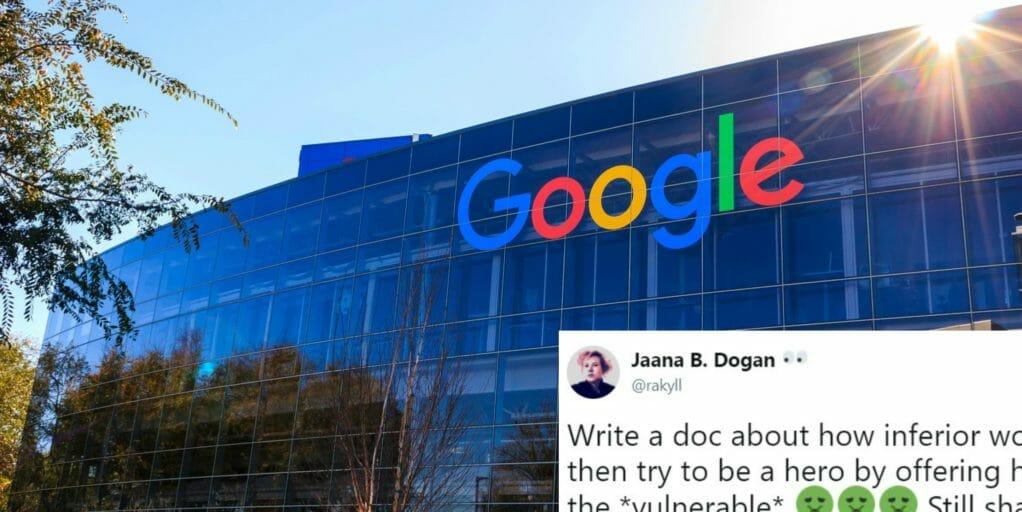 Google anti diversity memo