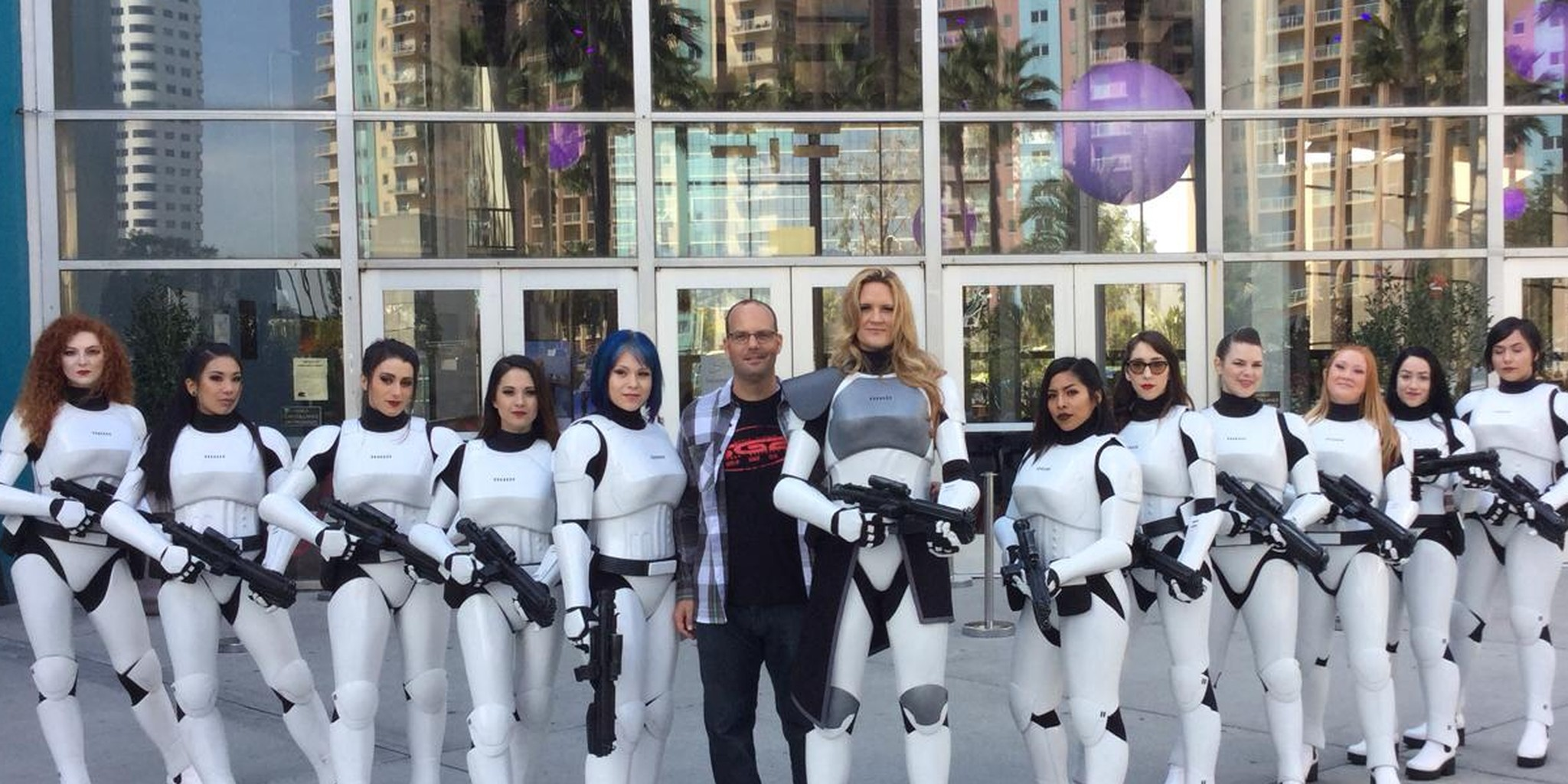 What it's like to wear the awesome new FEM7 armor for female stormtroopers