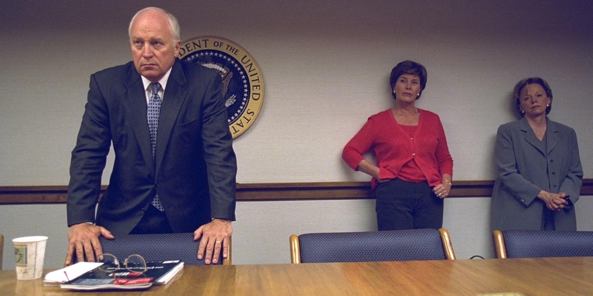 Dick Cheney, Laura Bush, Sept. 11, 2001
