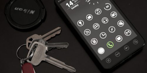 Android phone and keys