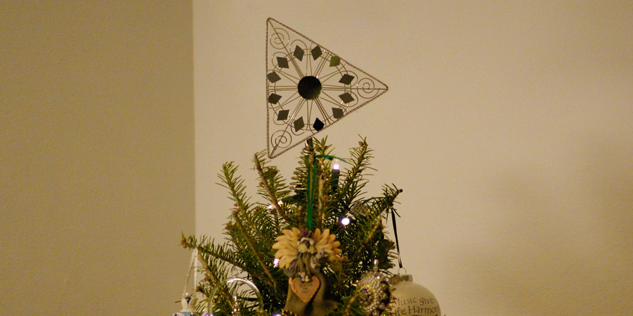 Slov-Matic Bratislava Christmas tree topper