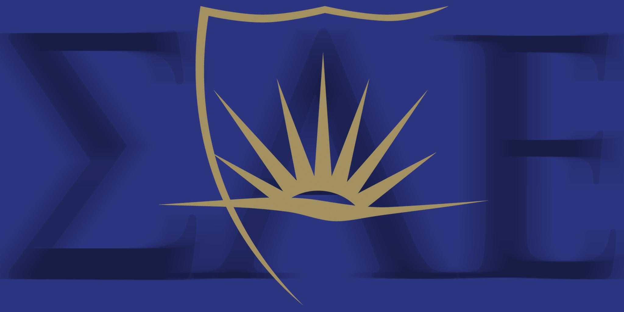 SAE Sigma Alpha Epsilon letters and logo