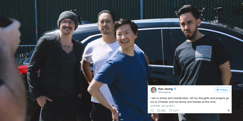 Chester Bennington and Linkin Park on Carpool Karaoke