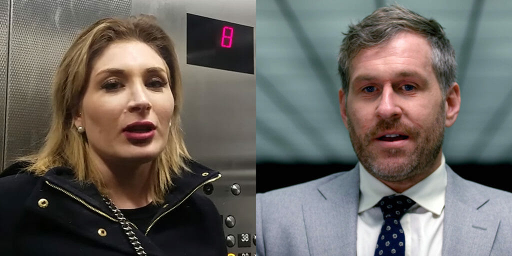 Laura Loomer and Mike Cernovich