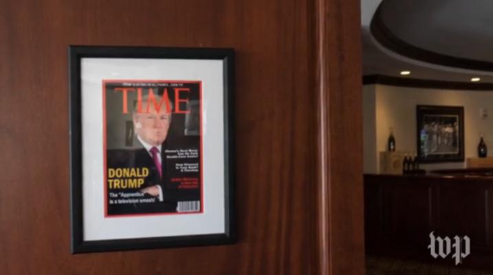 Trumps fake Time Magazine cover