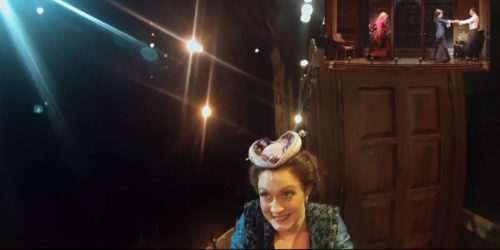 Broadway Show from the Actor's Perspective with a GoPro