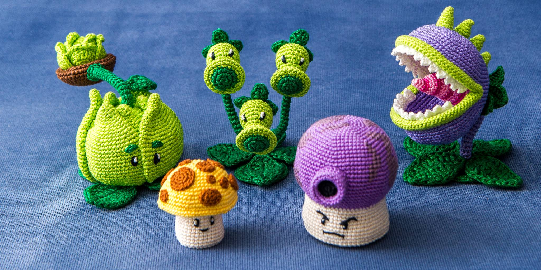 These adorable amigurumi are the world's cutest craft project