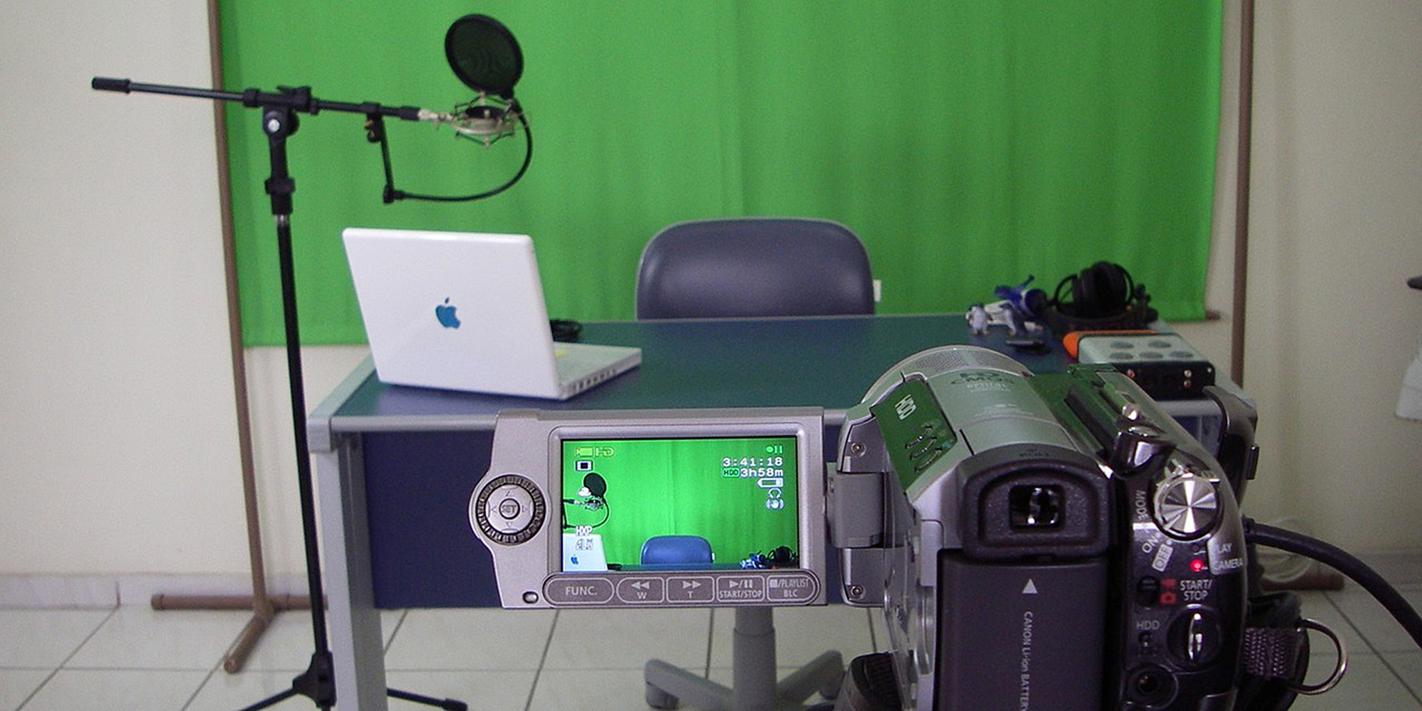 YouTube broadcast setup