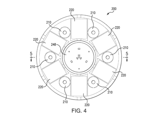 Patent drawing for Electromagnetic Levitator