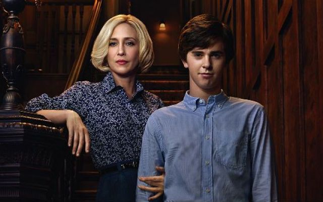 Quirky psychopath Norman Bates has a deeply intense relationship with his mother, Norma, on the TV show  'The Bates Motel'