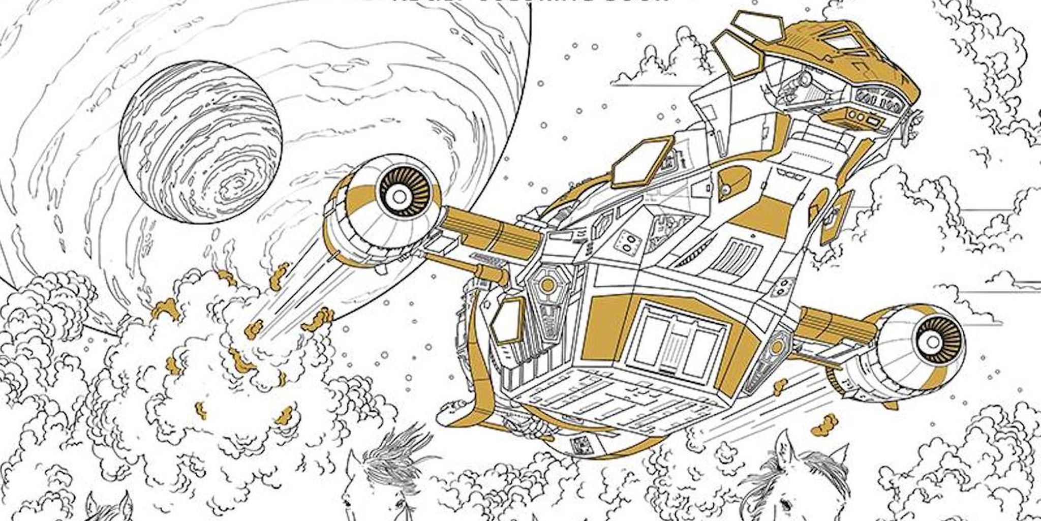 Serenity coloring book