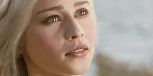 Digital Painting: Daenerys Targaryen
