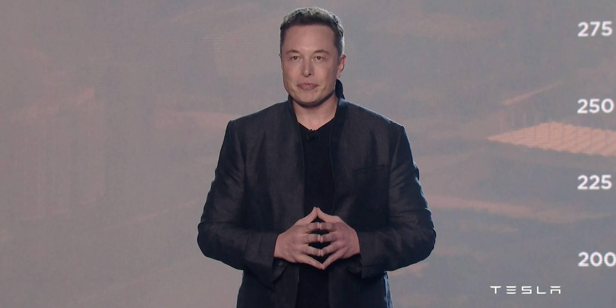 Elon Musk Model 3 unveiling