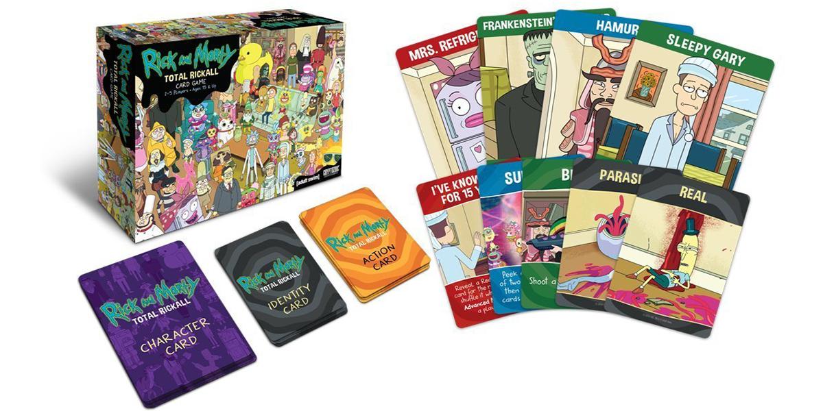 Rick and Morty card game Total Rickall
