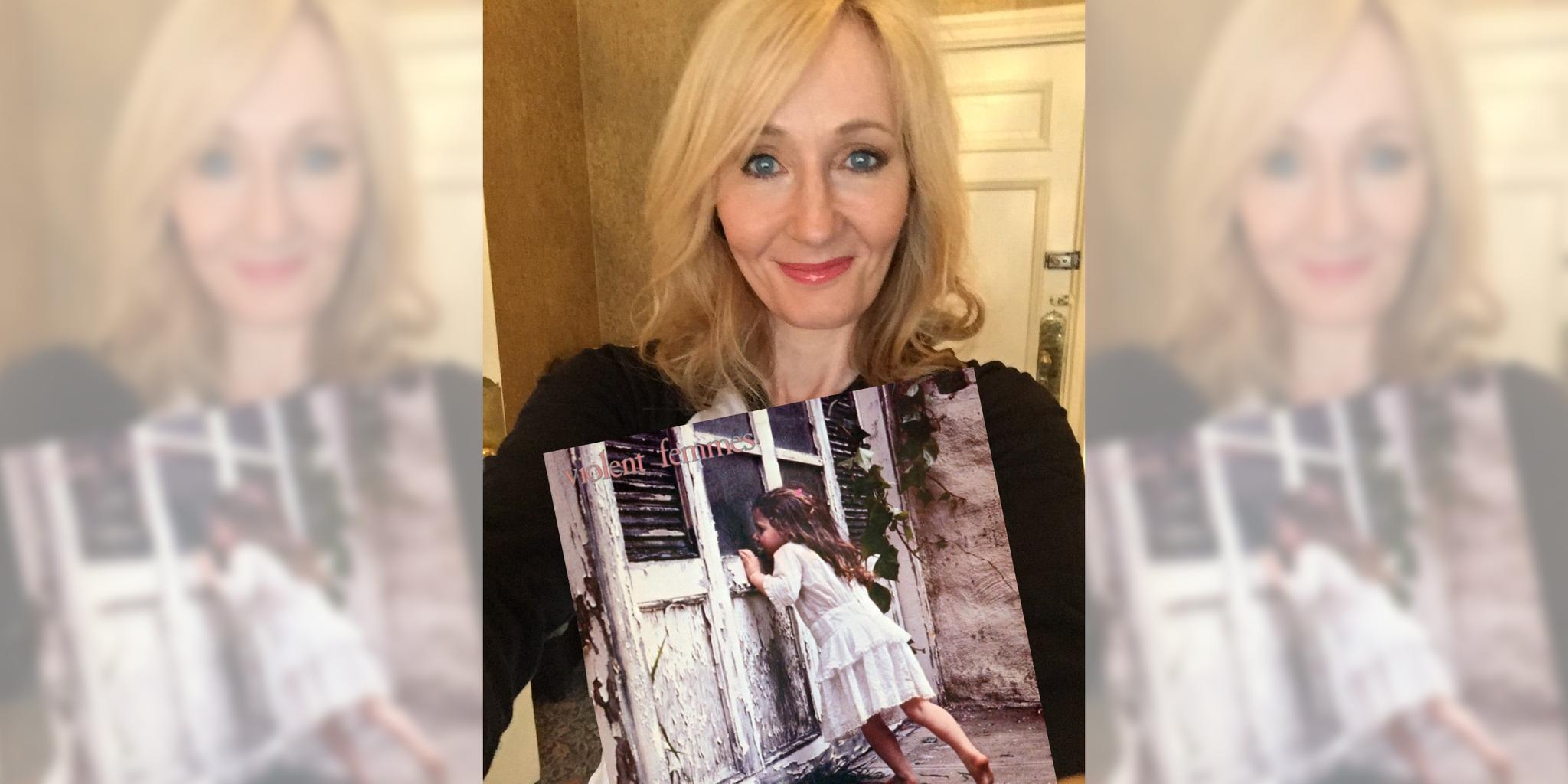 JK Rowling reviews the Violent Femmes