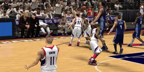 Tiny, horrible, video game versions of NBA players