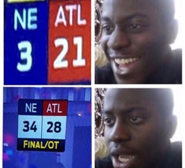Internet Sacks Falcons With Choking Memes After Super Bowl