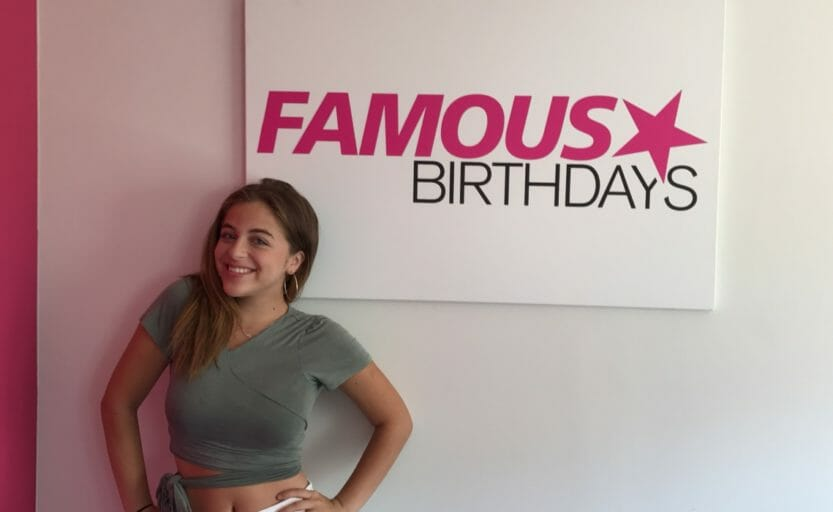 famous birthdays report