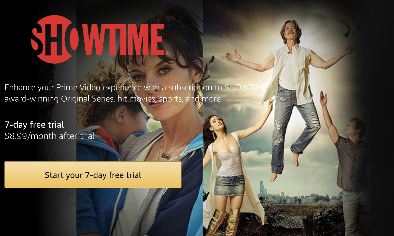 how to watch showtime online without cable - amazon prime