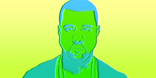 abstract art of kayne west
