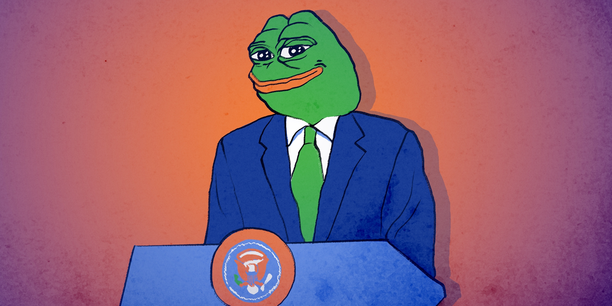 pepe the frog as president