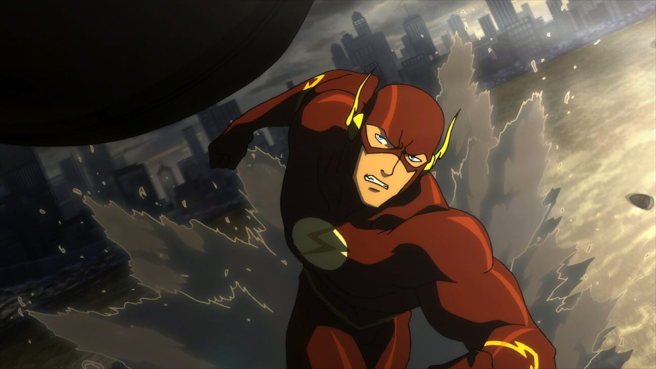 dc animated movies justice league: flashpoint