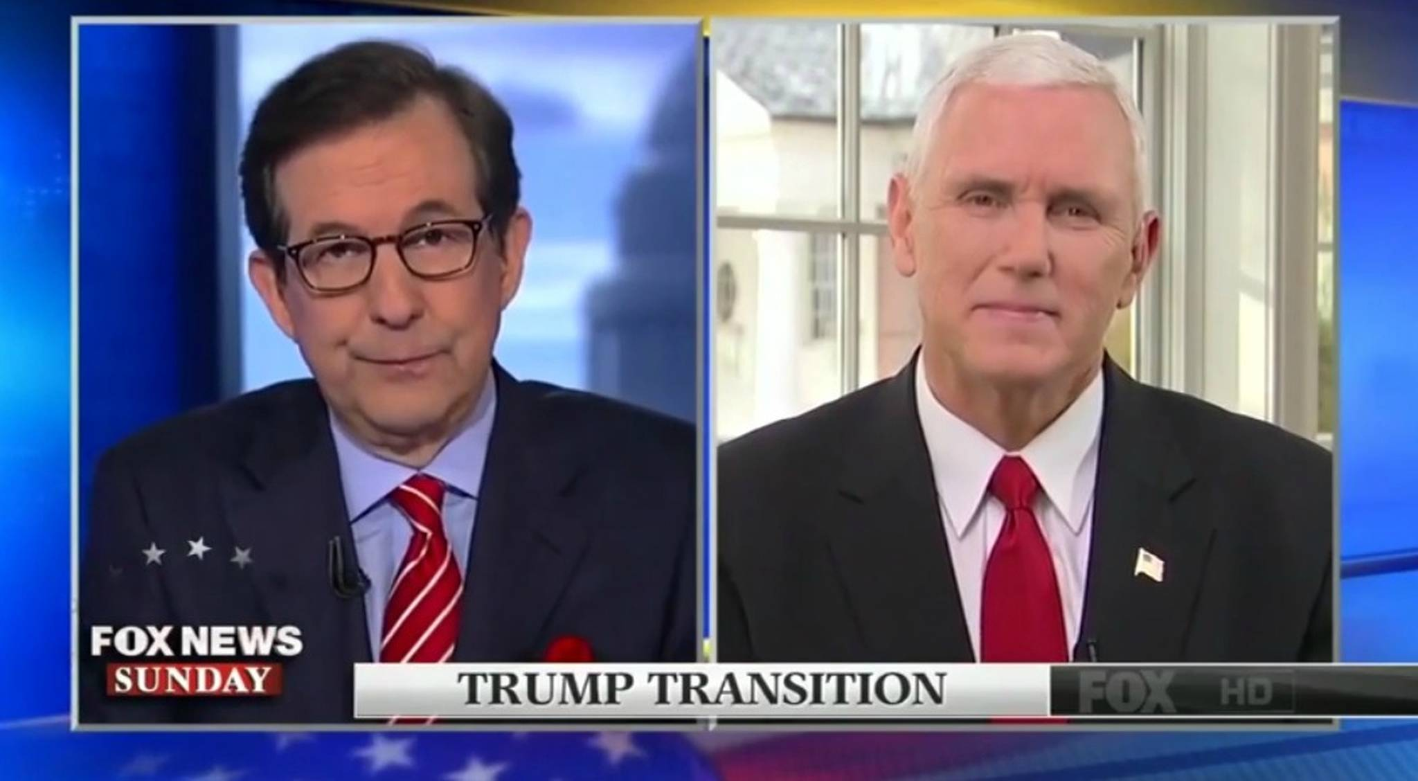Mike Pence Fox News interview