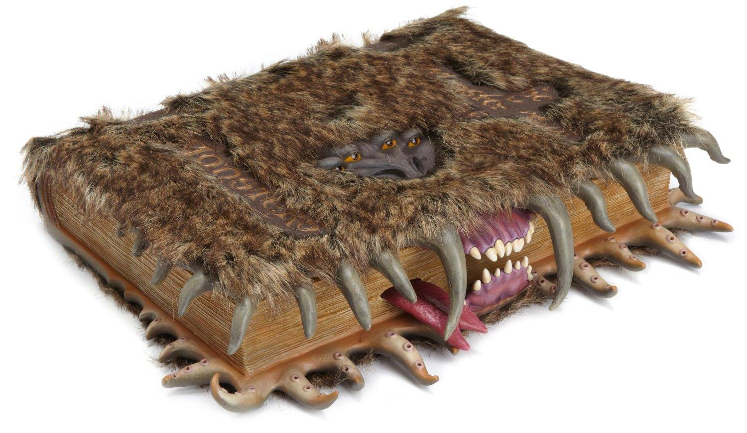 Harry Potter Monster Book Cover : Someone put a harry potter monster book of monsters