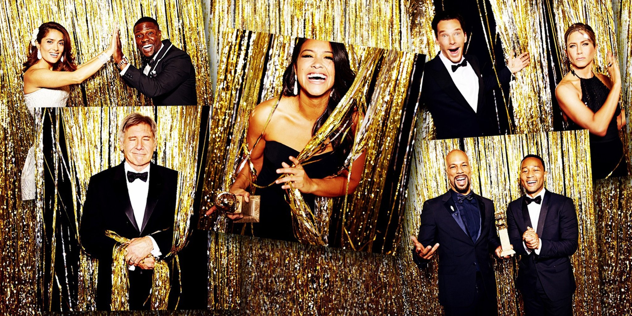 Golden Globes Photobooth Images