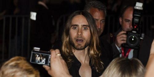 Jared Leto Dallas Buyers Club red carpet