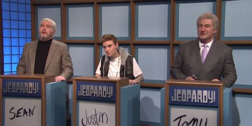 Celebrity Jeopardy on SNL's 40th Anniversary Episode