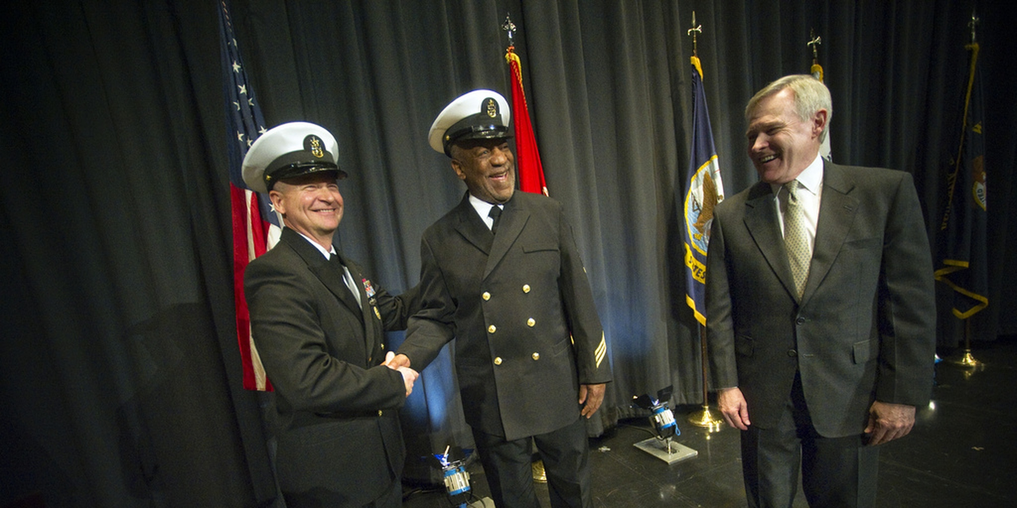 Bill Cosby Being Named Honorary Navy Chief