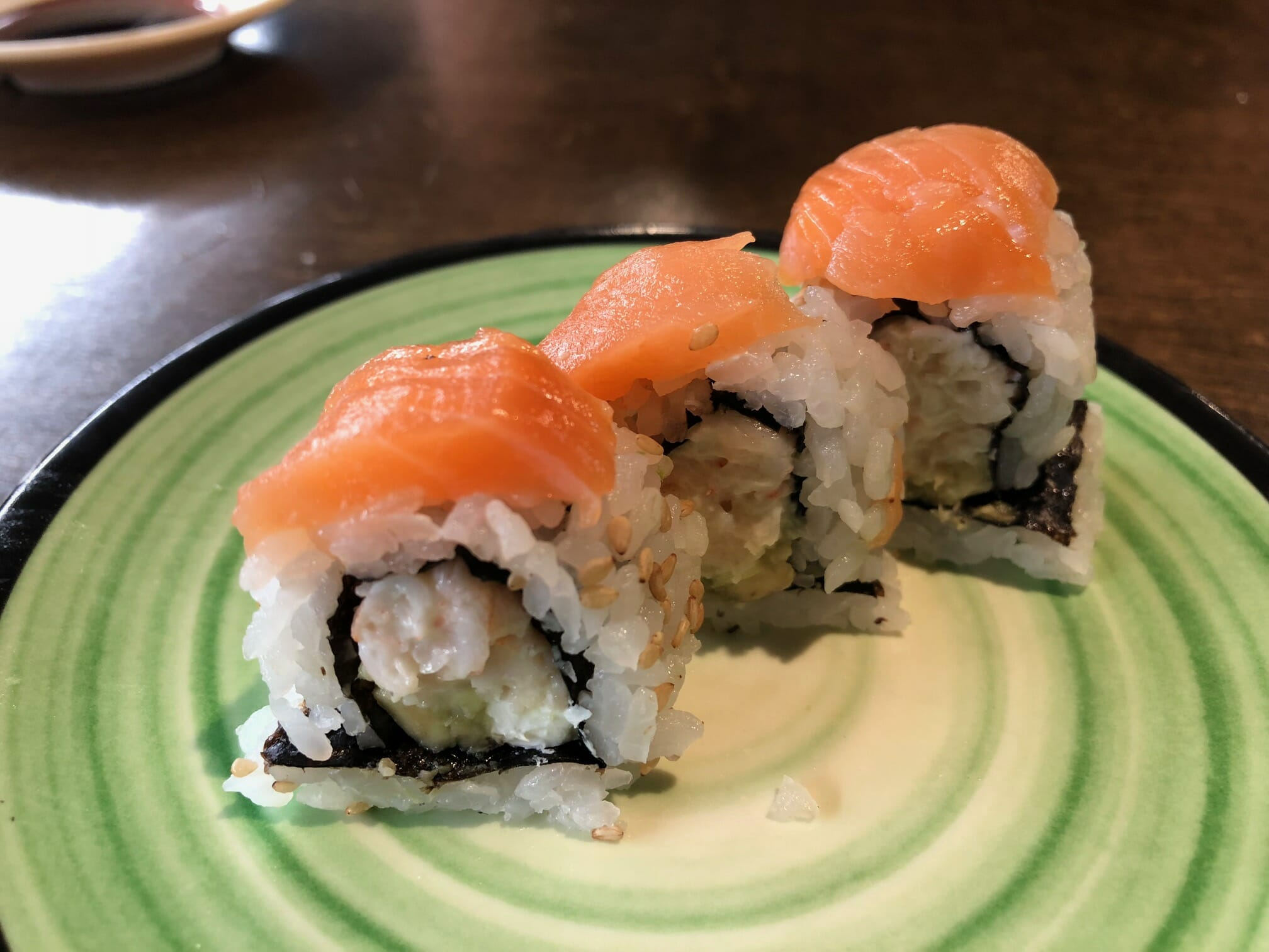 iphone 8 plus macro shot sushi