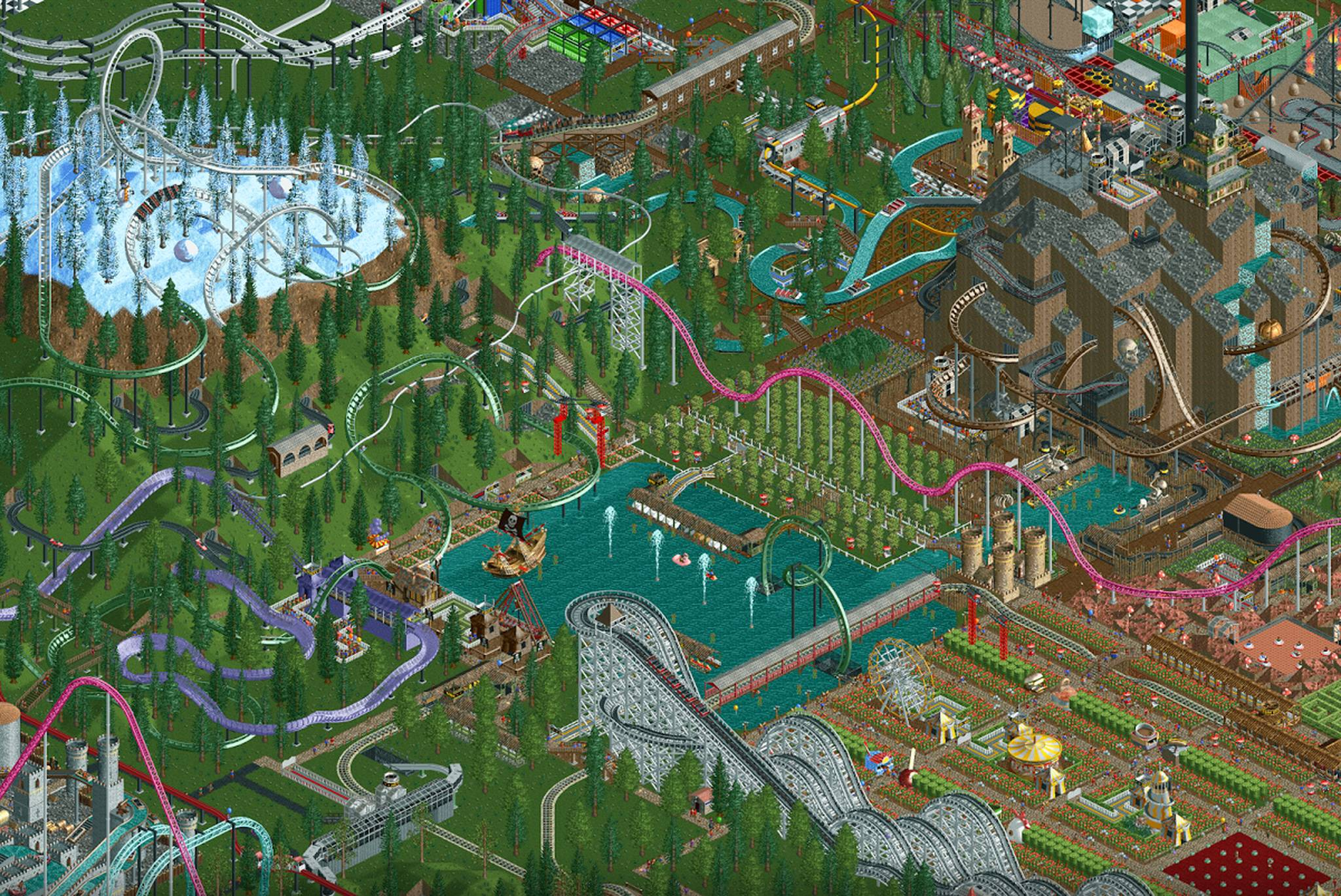 Atari releases RollerCoaster Tycoon Classic on iOS and Android