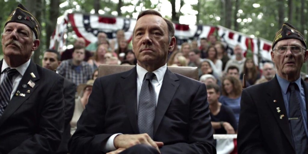 Kevin Spacey House of Cards suspended