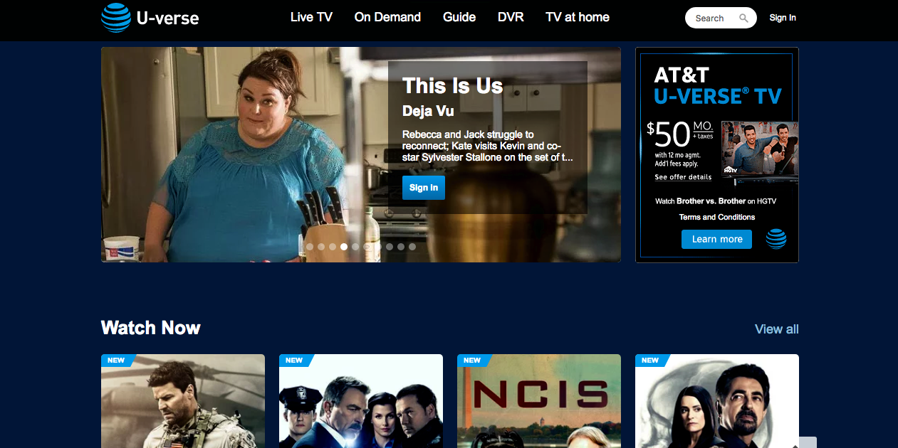 what is at&t u-verse? packages, cost, app, and on-demand content