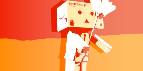 illustration of amazon's robot