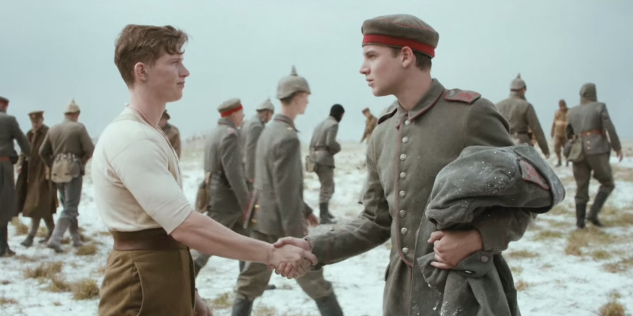 A British grocery chain made a commercial featuring World War I's ...