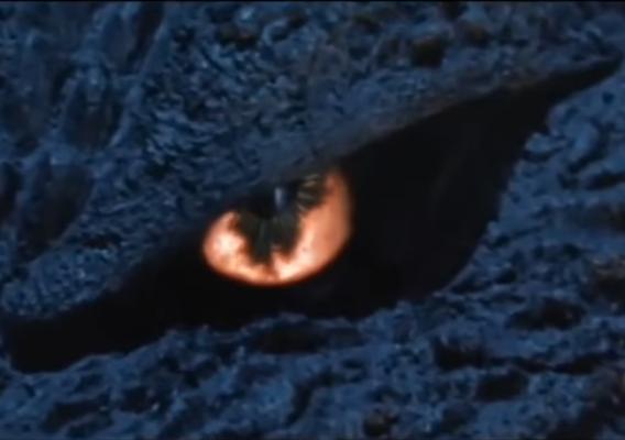 Godzilla eye