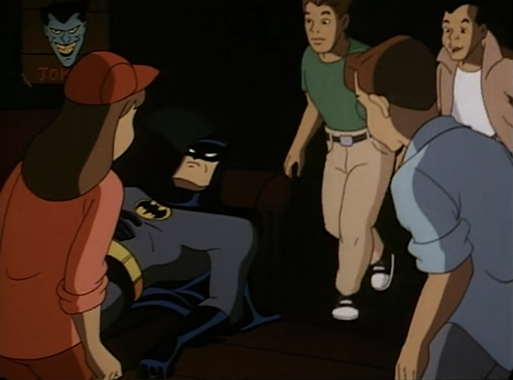 batman animated series : i've got batman in my basement